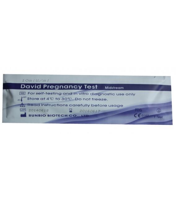 Testas nėštumui nustatyti DAVID (tiesioginis - pieštukinis, 10 mIU)